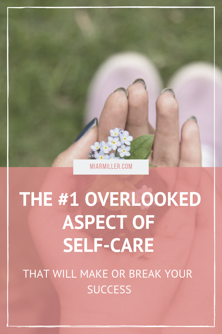 When we think of self-care, often some of the first things that pop into our minds are bubble baths and manicures. While these things can have a place in your self-care, there's one aspect that you're probably forgetting about. Click to learn what you've been missing. | Fitness and Wellness Strategist  #selfcare #success #forgiveness #strategy