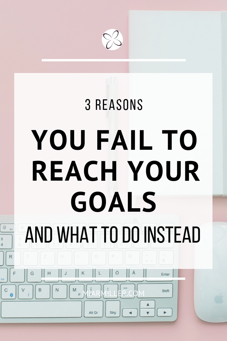 We all have goals we want to achieve in our lives, but we often become frustrated when we don't get the results we were after ( if any results at all). Failure doesn't happen in a vacuum. We usually fail due to at least one of three reasons. | Transformation Mentor | Beflourished