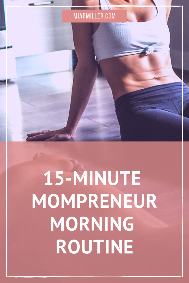 "As a work-from-home mompreneur, I love any and all help available to me in order to get my head in the game for the day. While I LOVE coffee and caffeine is my jam, it doesn't have the ""sticking"" power throughout the day that a short, but intense workout does. I wholeheartedly believe that a stronger body coupled with a stronger mind equals someone who is unstoppable! Click the link to find out how. 