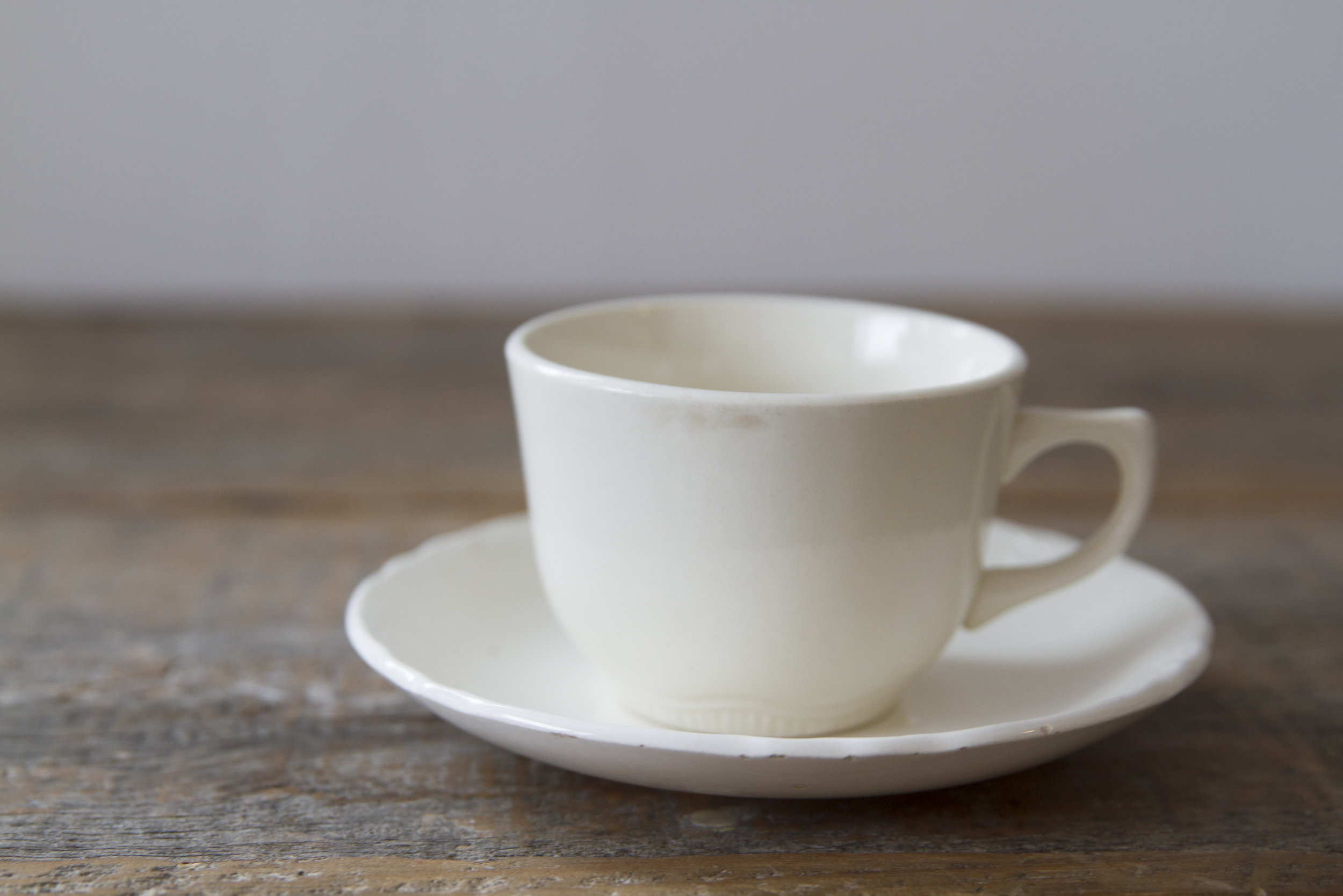 Quantity: 8 Coffee Cups, 4 Saucers  Price: $2 each