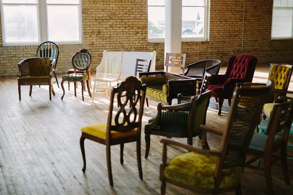 Chairs - Chairs can be the perfect addition to a senior photo session, that unique flair for the bride and groom at the head table, and paired with our couches, they make great seating for conversation areas at events.