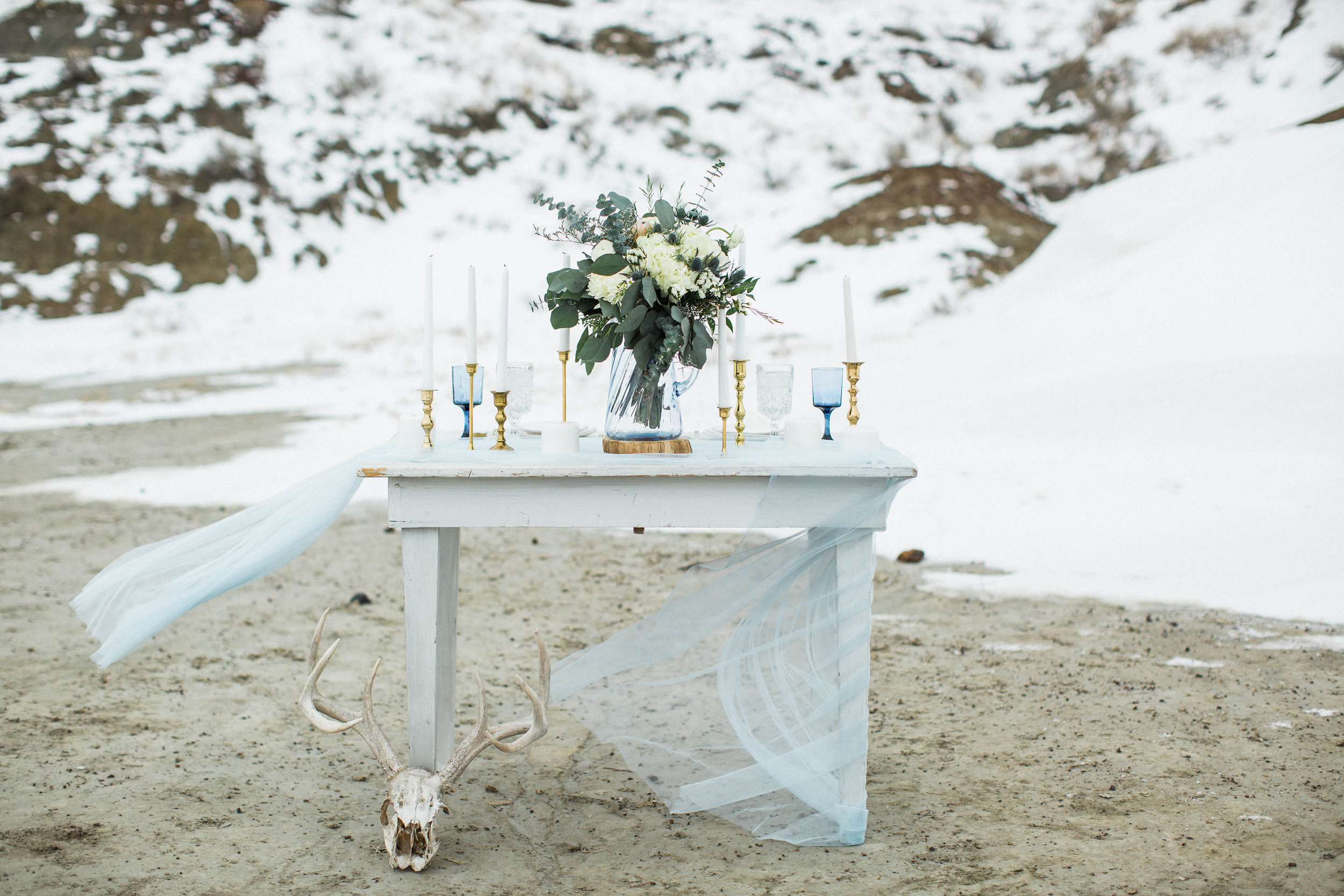 Tables - Tables are always a must at weddings and showers. Why not ditch the standard folding table for a beautiful vintage piece?From head tables to dessert tables, we've got what you need.