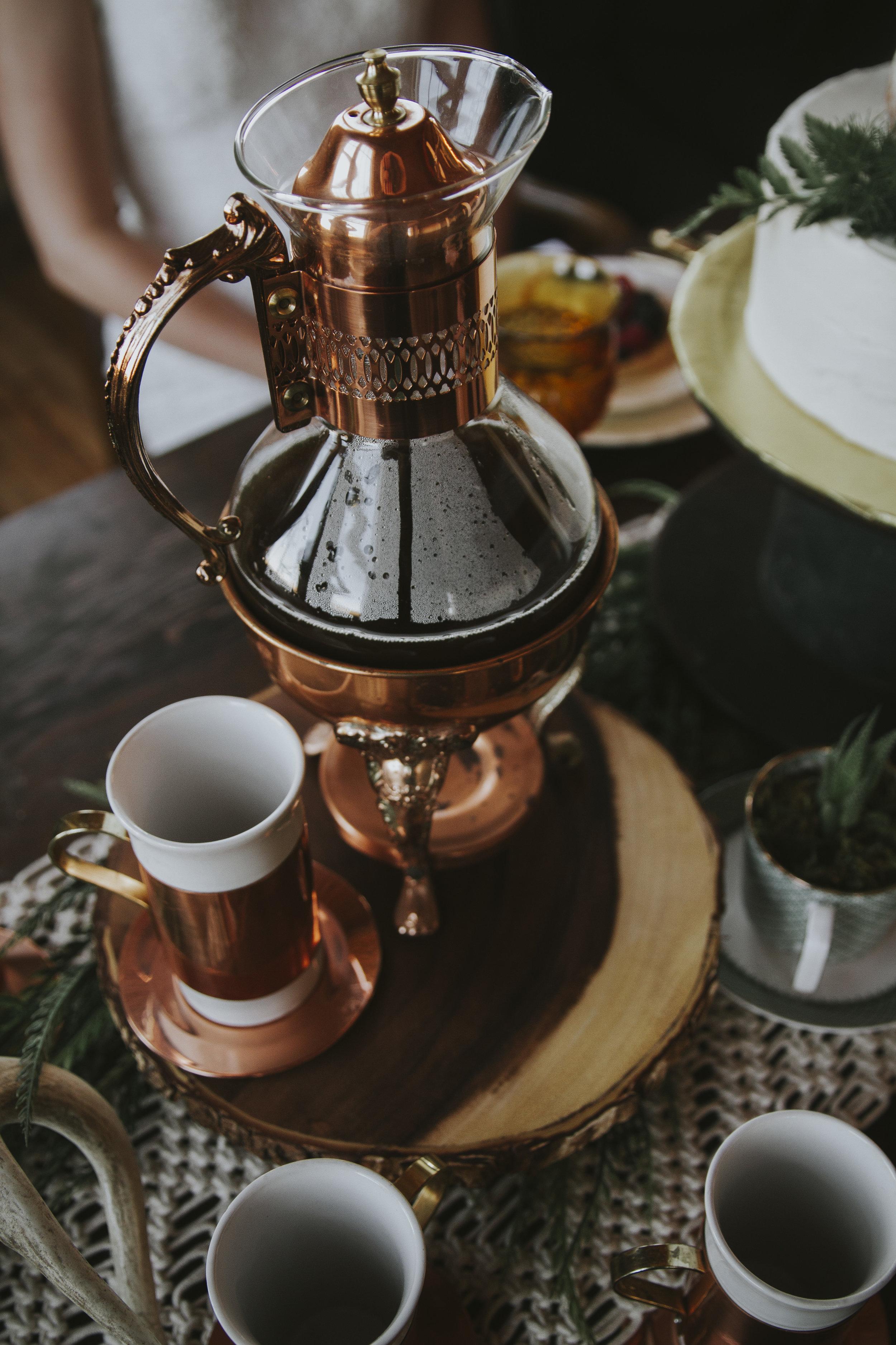 Copper Coffee Carafe