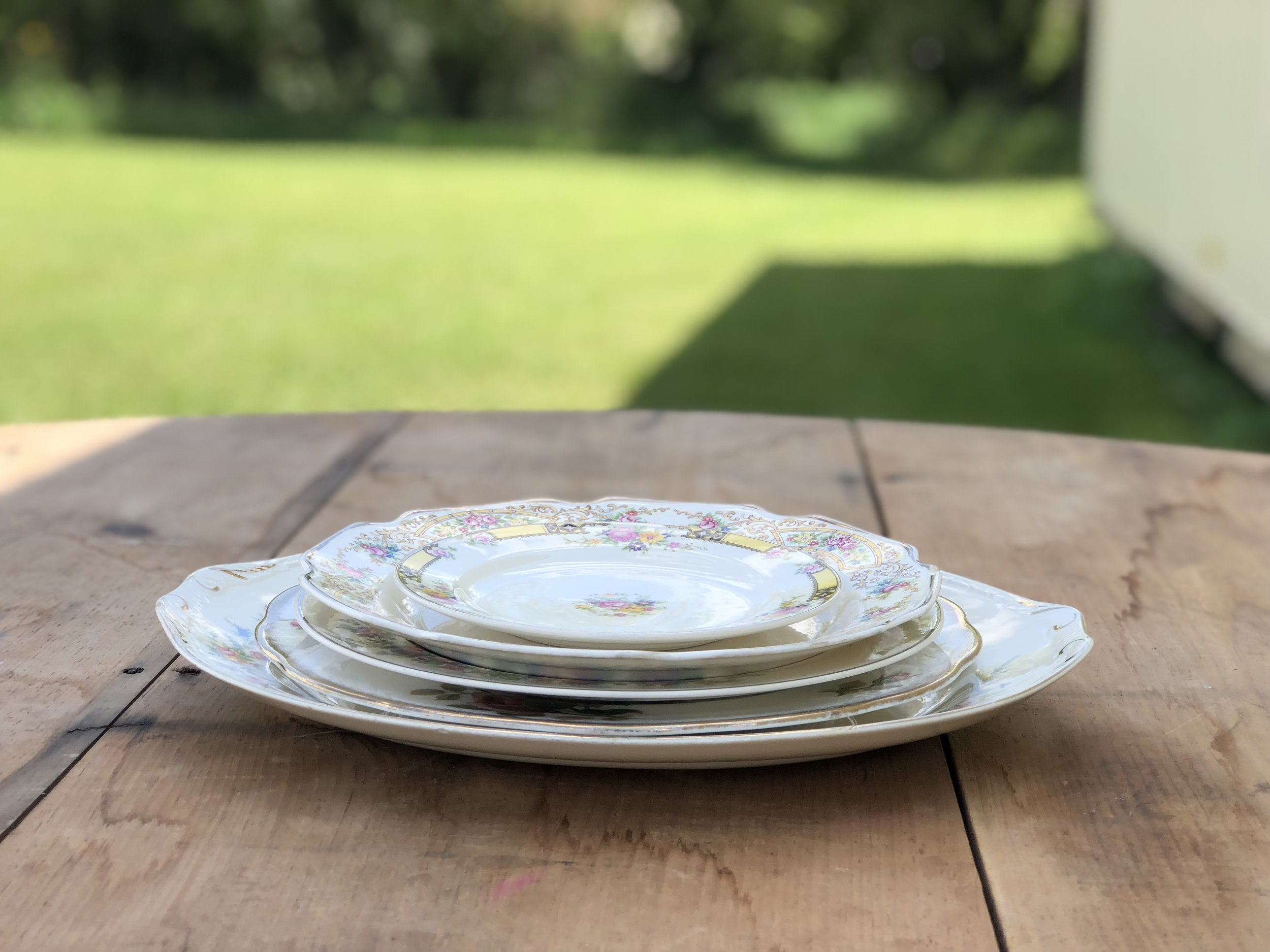 Assorted Vintage Dishes