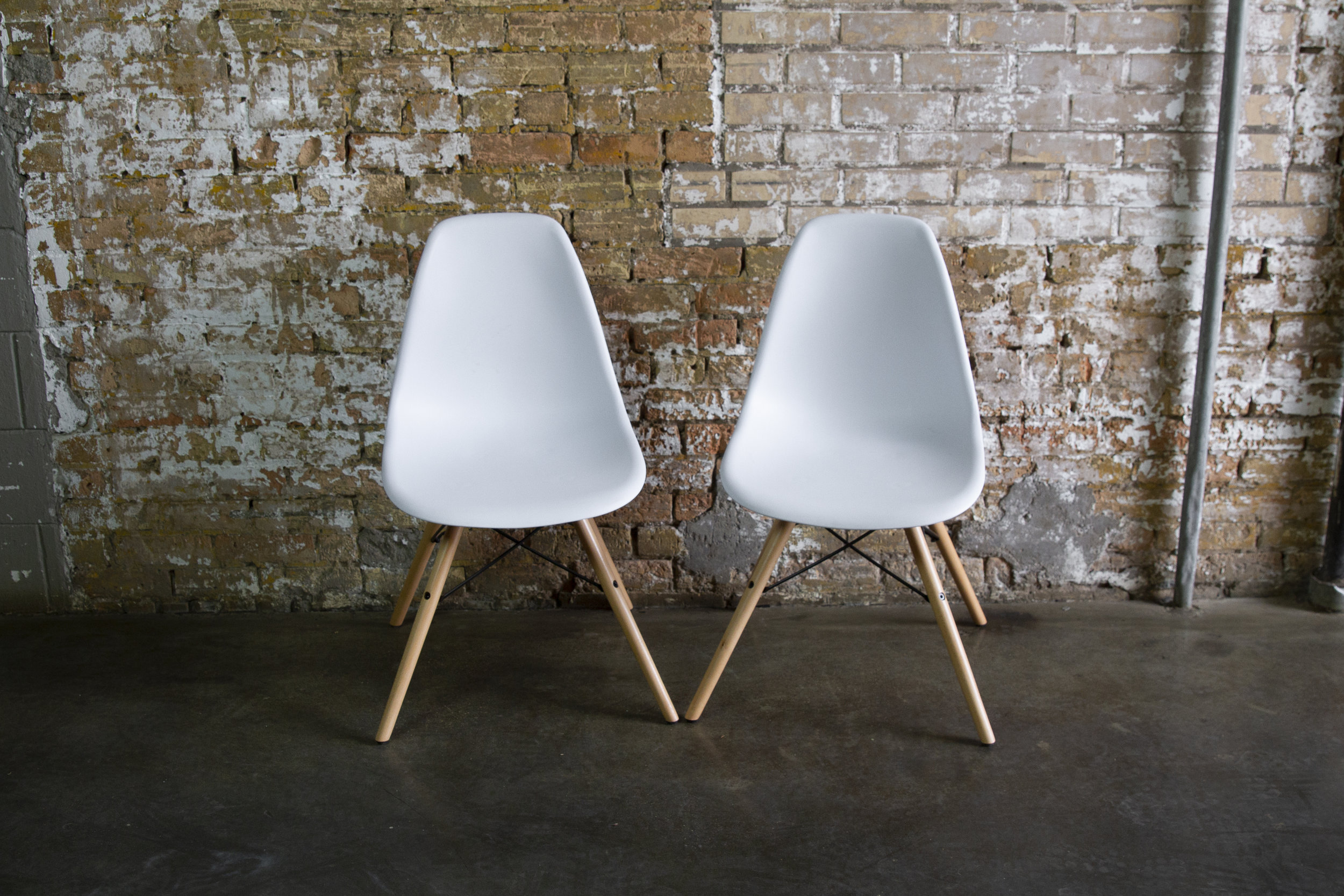 Modern Scoop Chairs