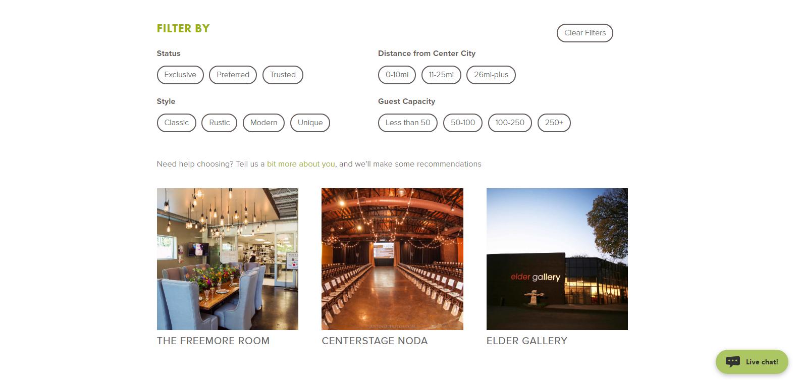 QC Catering Website Design
