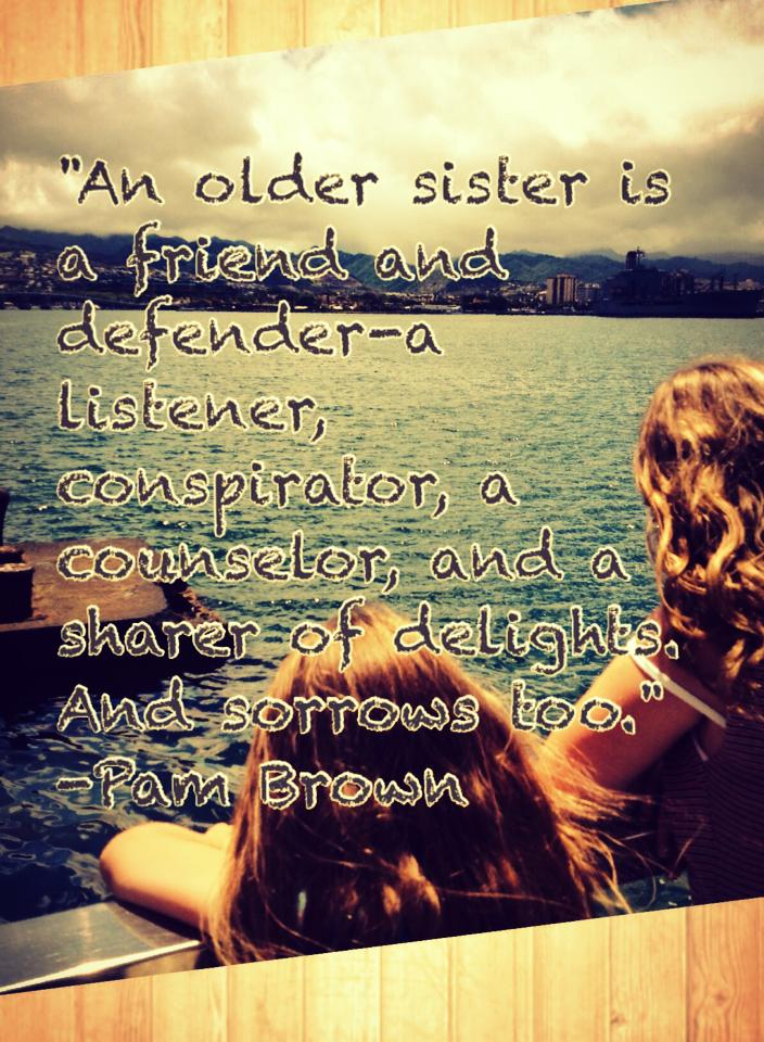 Big Sisters Rock Quote