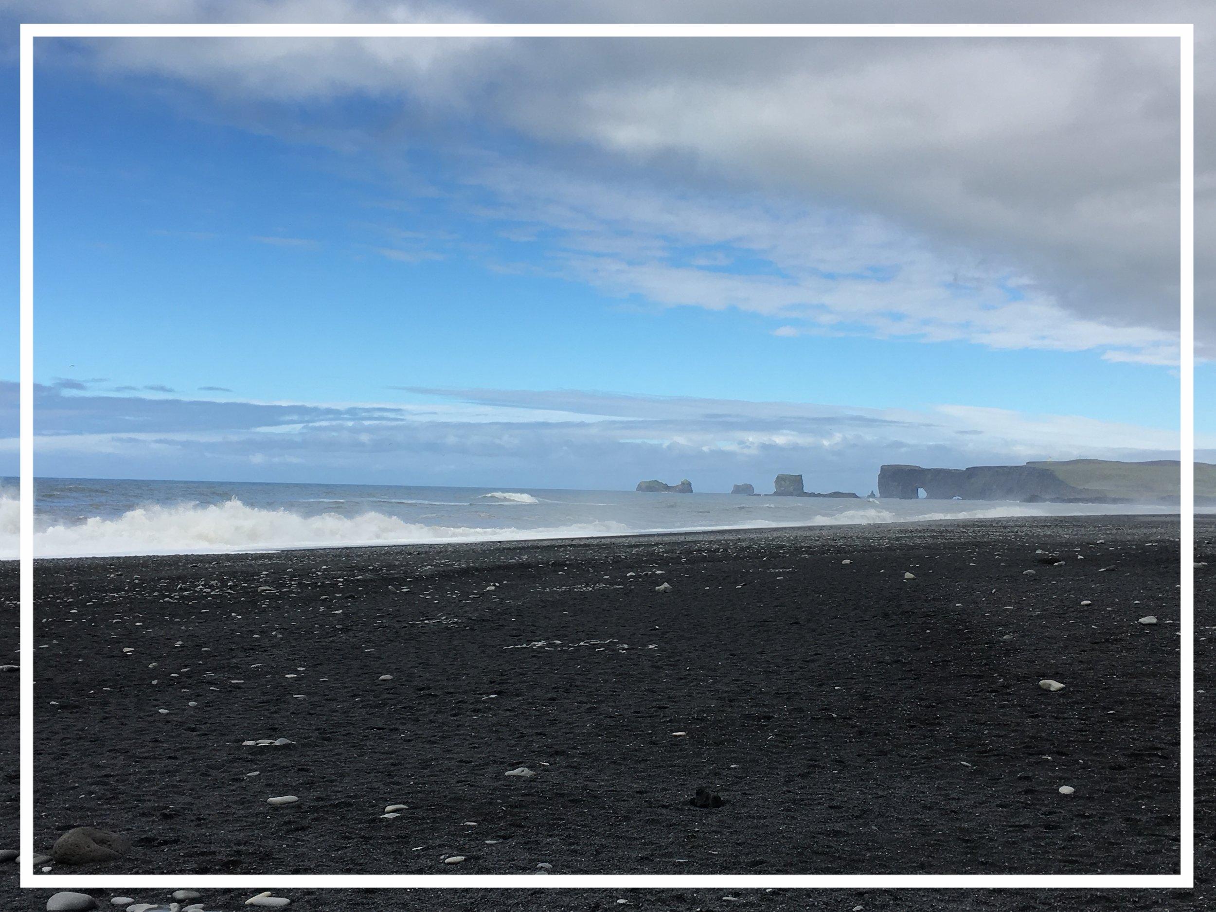 The Black Beach, Reynisfjara, Iceland  © HD Grzywnowicz, 2017