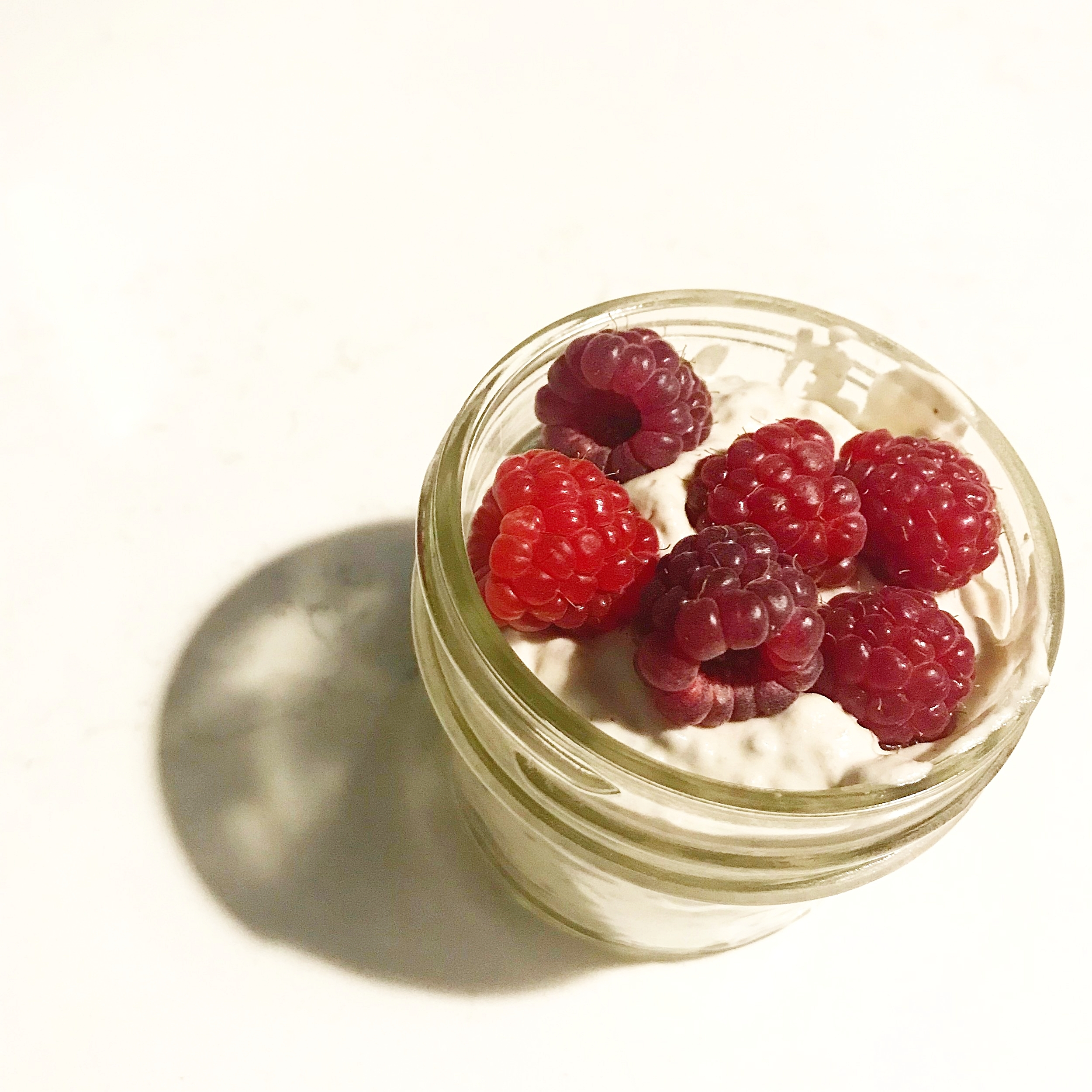 I love making these in individual mason jars for easy snacks on the run