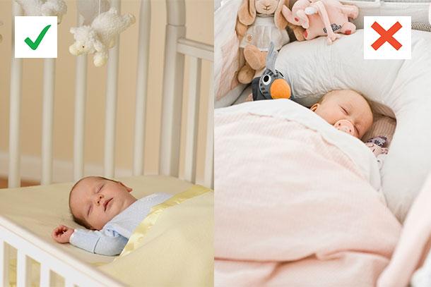 Promovendo um ambiente seguro para o sono do seu bebê, você pode ajudar a diminuir os índices de SMSI!