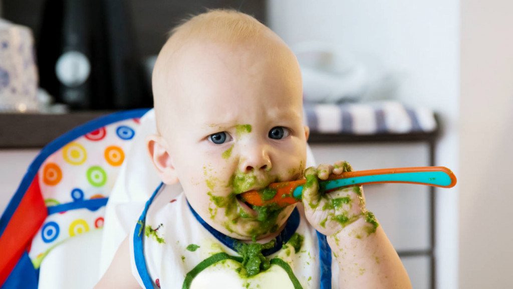 Quer saber mais sobre a introdução alimentar? - Confira meu curso e aprenda hoje mesmo sobre como ensinar o seu bebê a comer de tudo.