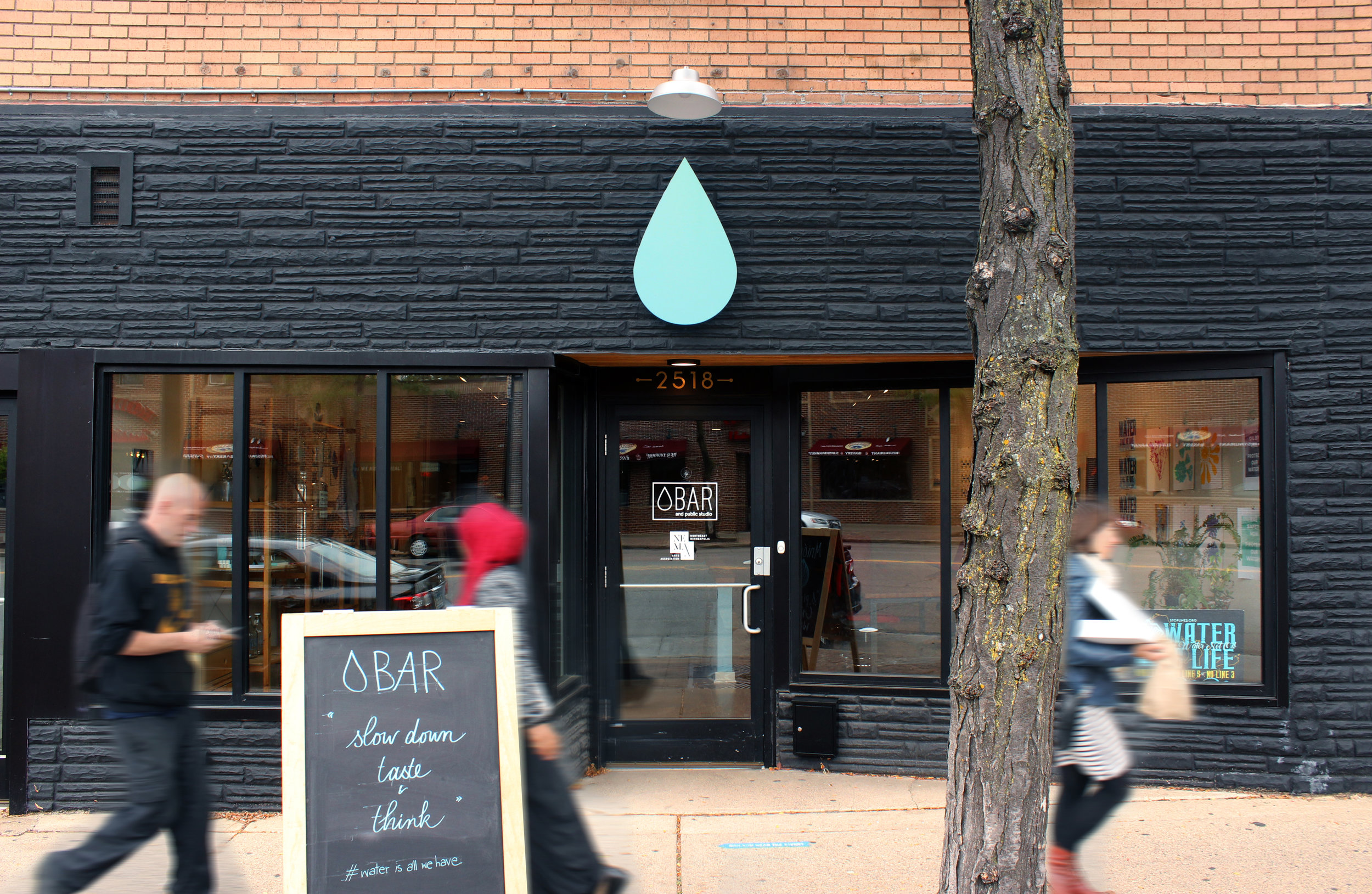 I am one of the founding artists and Collaborative Directors of     Water Bar & Public Studio      (2014 - 2019)   , an art and community space, cross-sector collaborative network, and emergent strategy. We serve water to build transformative relationships and to shift culture.