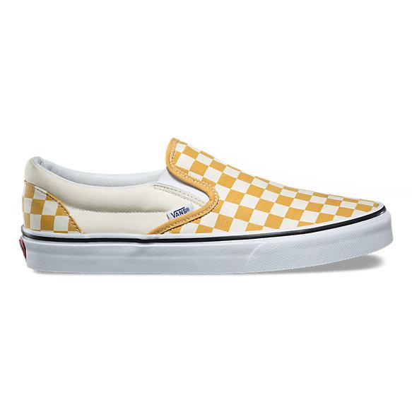 Mustard Check Vans