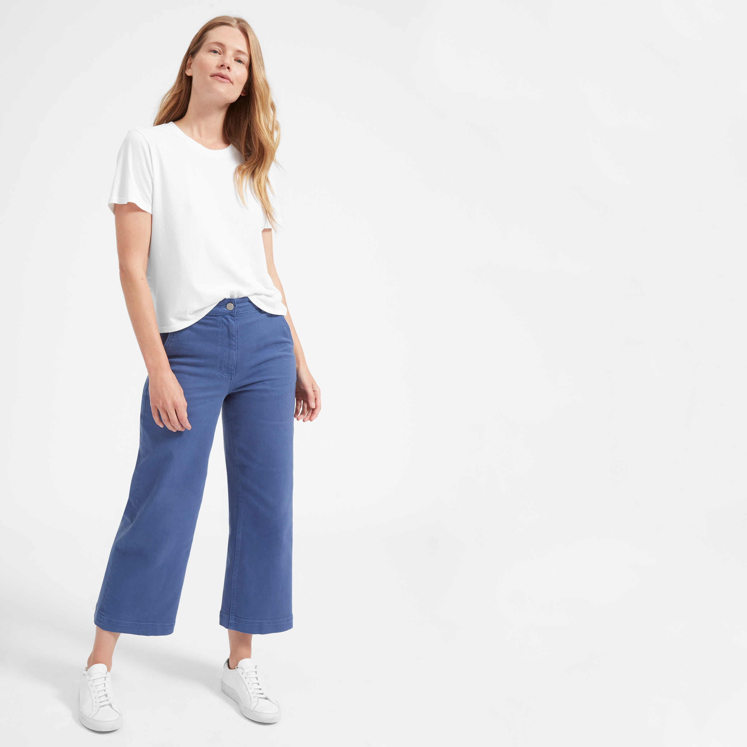 Everlane - Women's White Tee