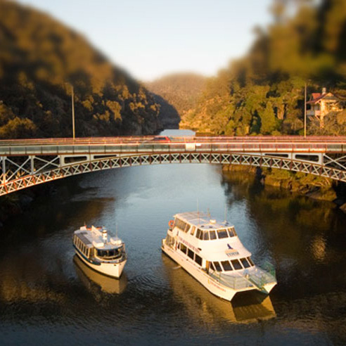 River Cruise up Cataract Gorge with  Tamar River Cruises