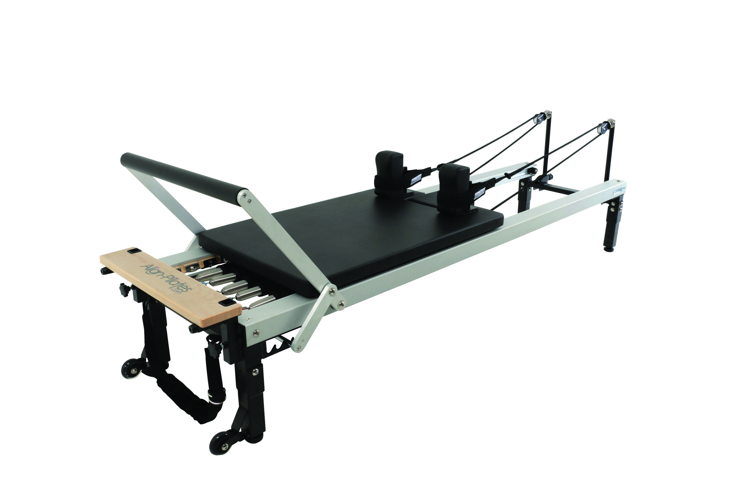 Align C2 pro pilates reformer with extension legs