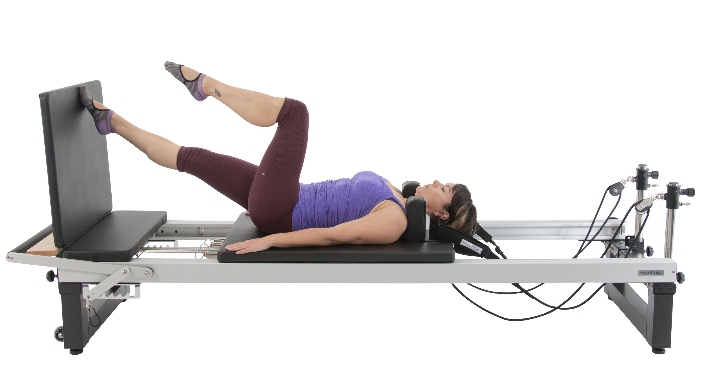 Align A2R2 studio pilates reformer with jumpboard