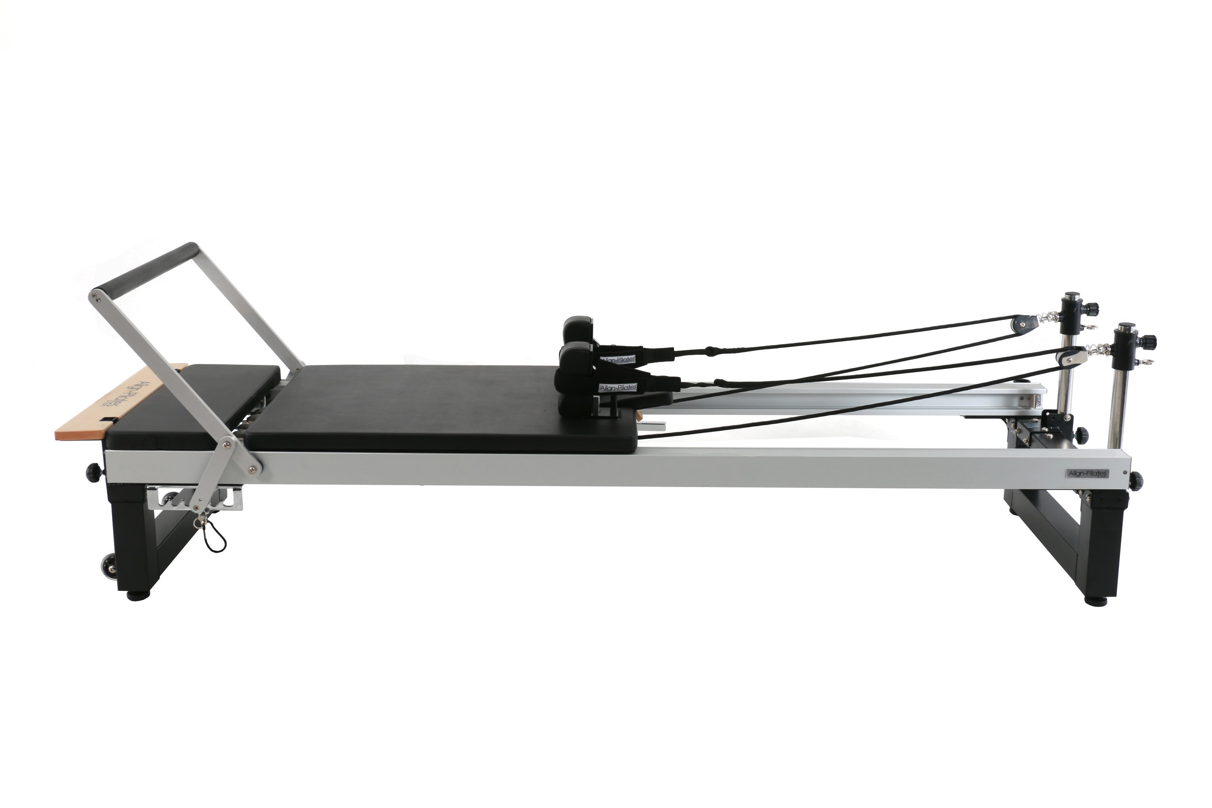 Align A2R2 studio pilates reformer with extension legs 42cm carriage height