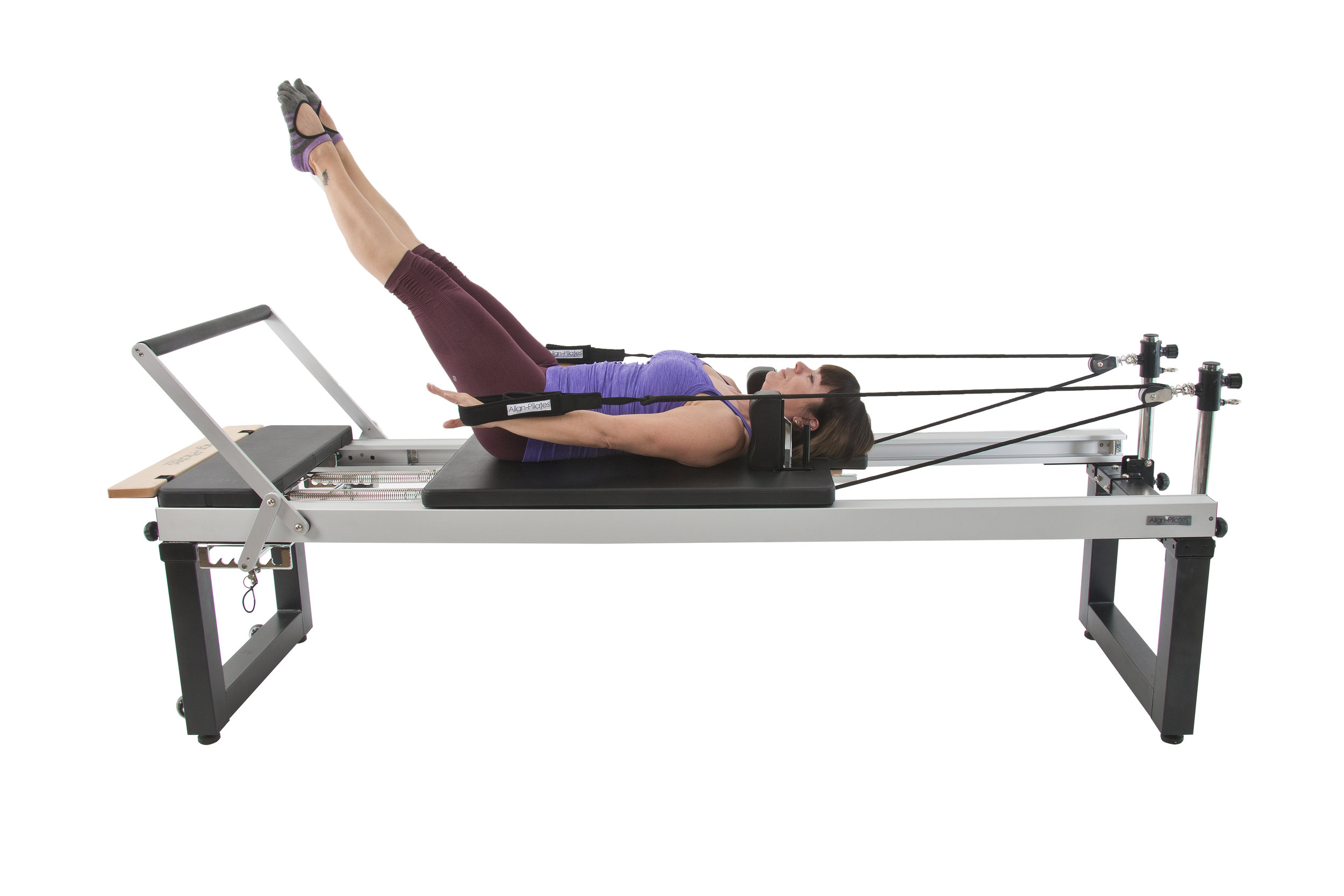 Align A2R2 studio pilates reformer with rehab legs