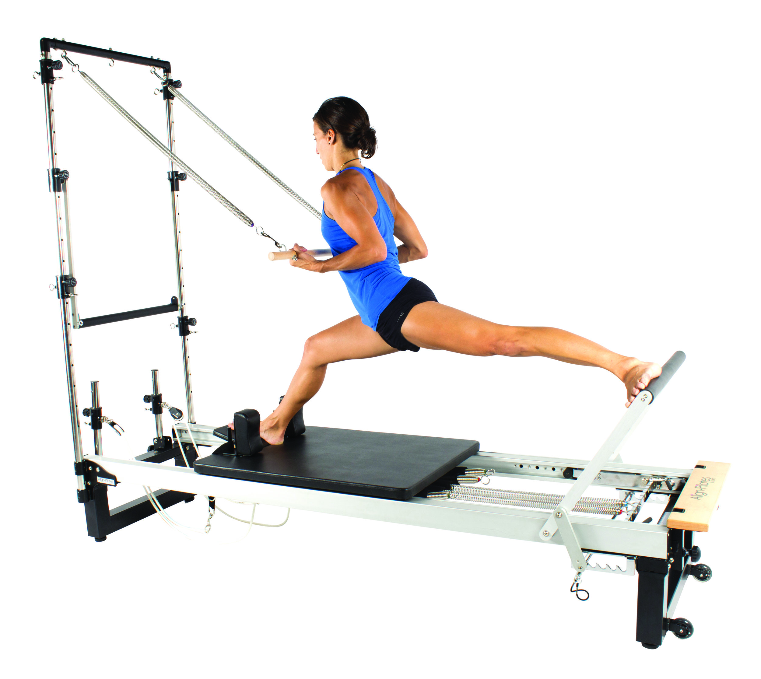 Align A2R2 studio pilates reformer with half trap