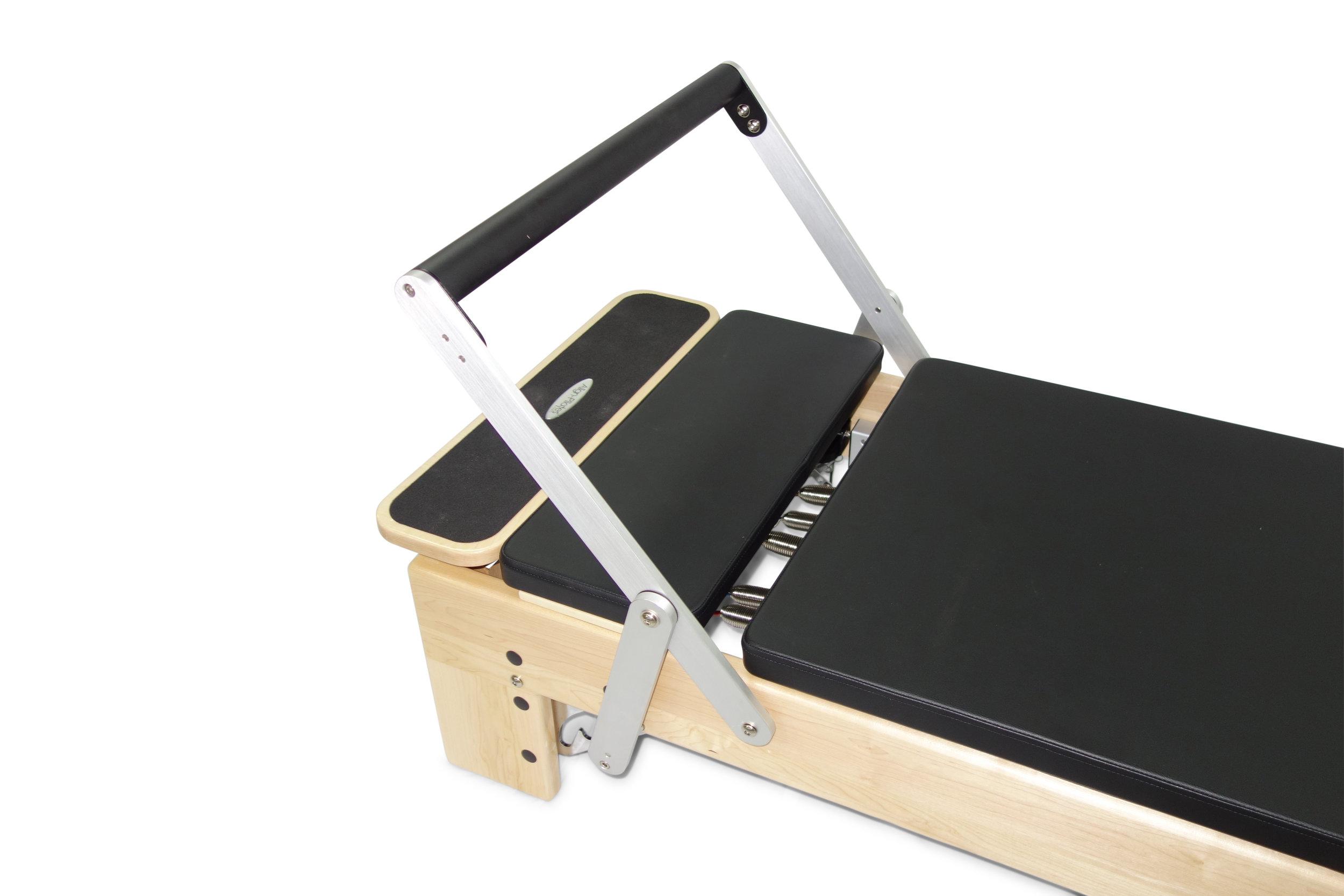 Align M2 Studio Maple Pilates Reformer with platform extension