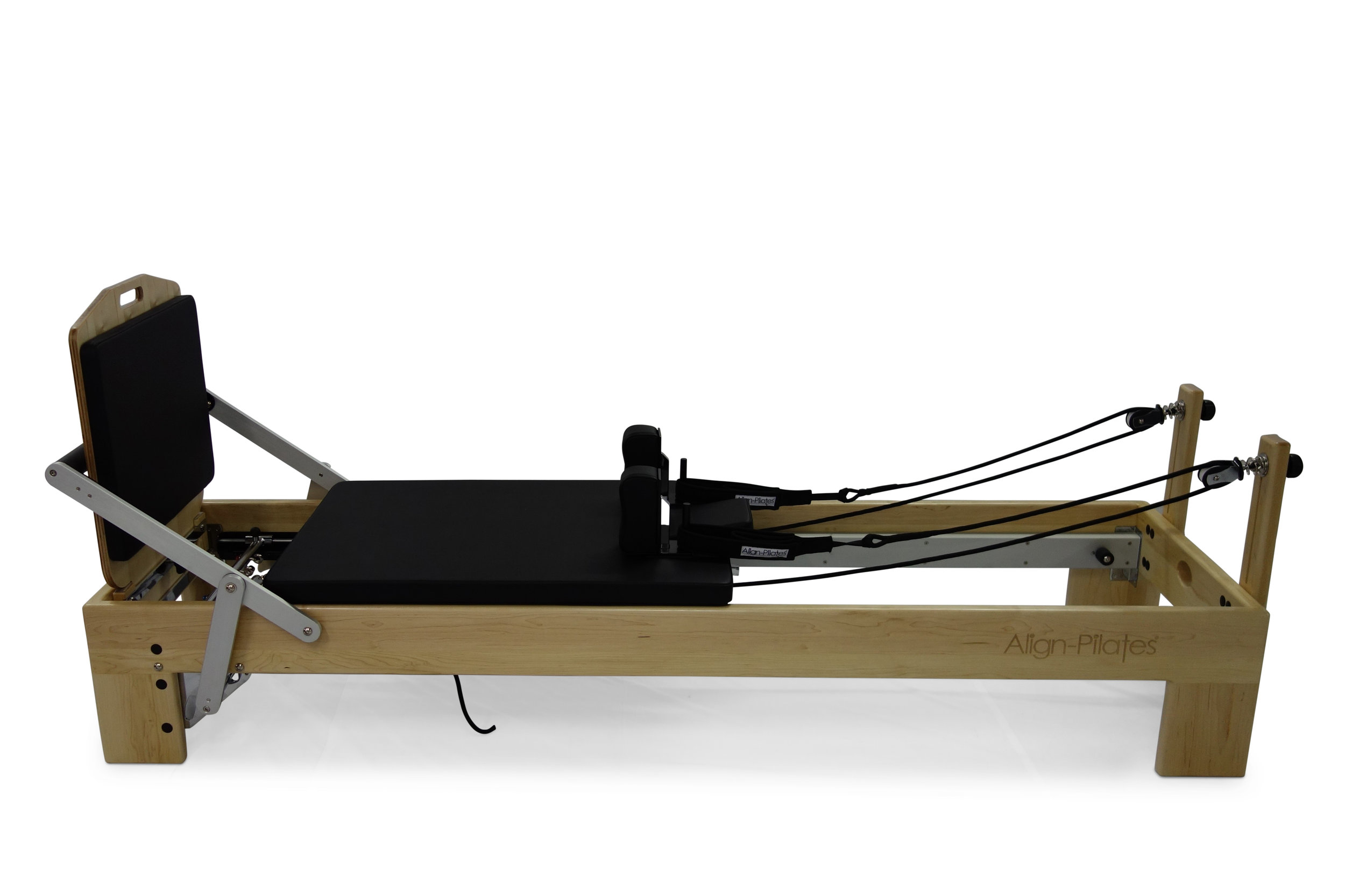 Align M2 Studio Maple Pilates Reformer with jumpboard