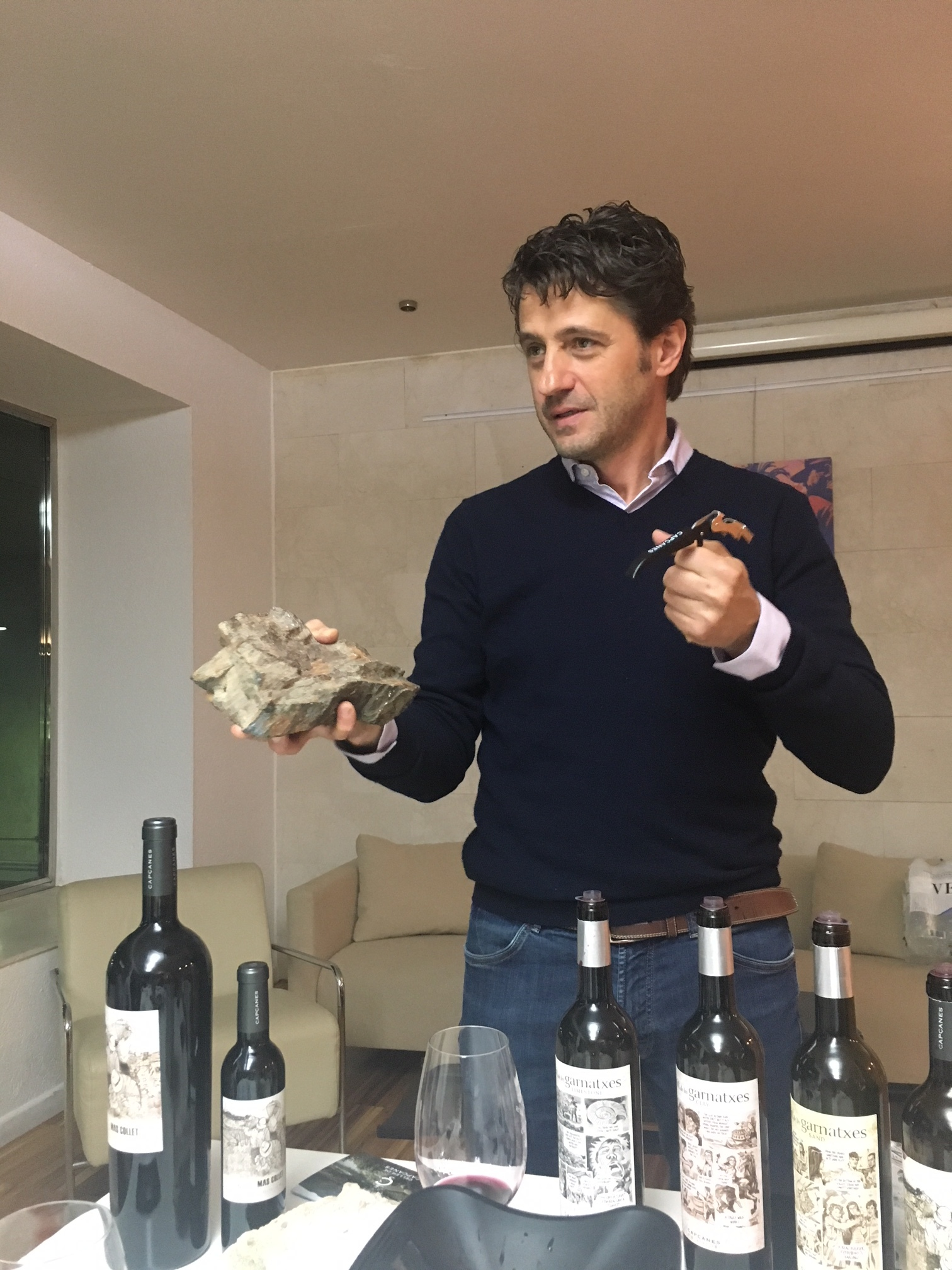 Jurgen, winemaker at Capçanes