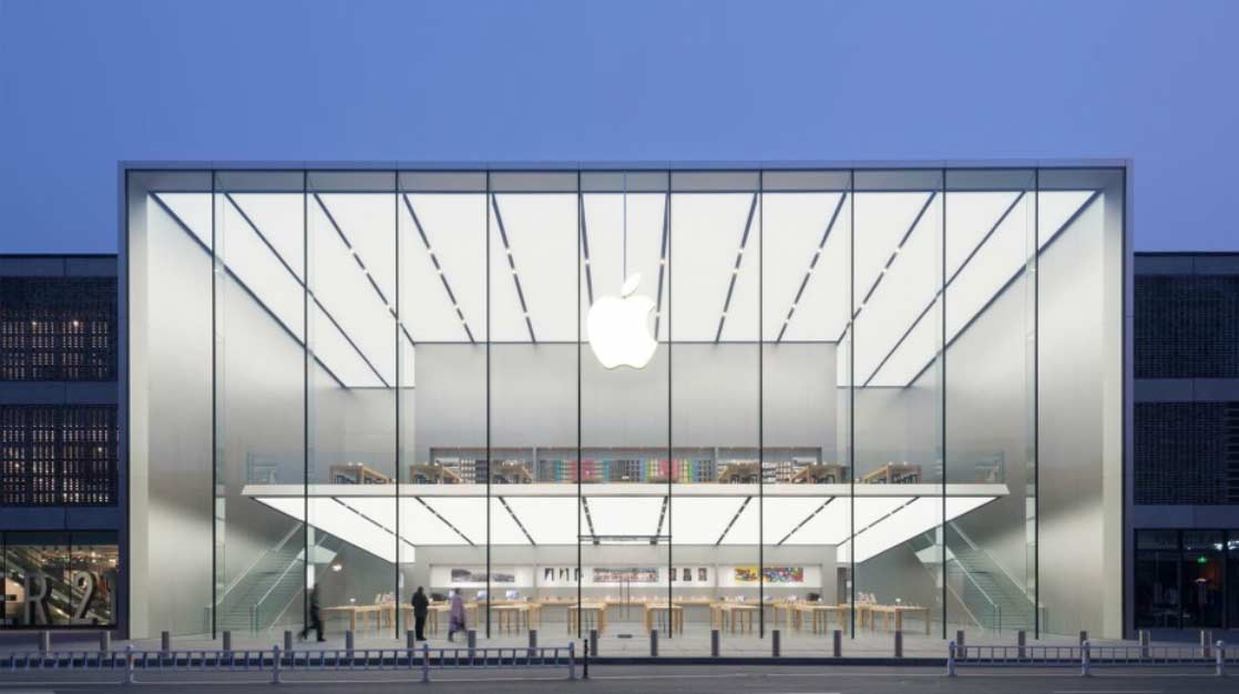 Apple, Hangzhou by Foster and Partners. Image ©  Apple