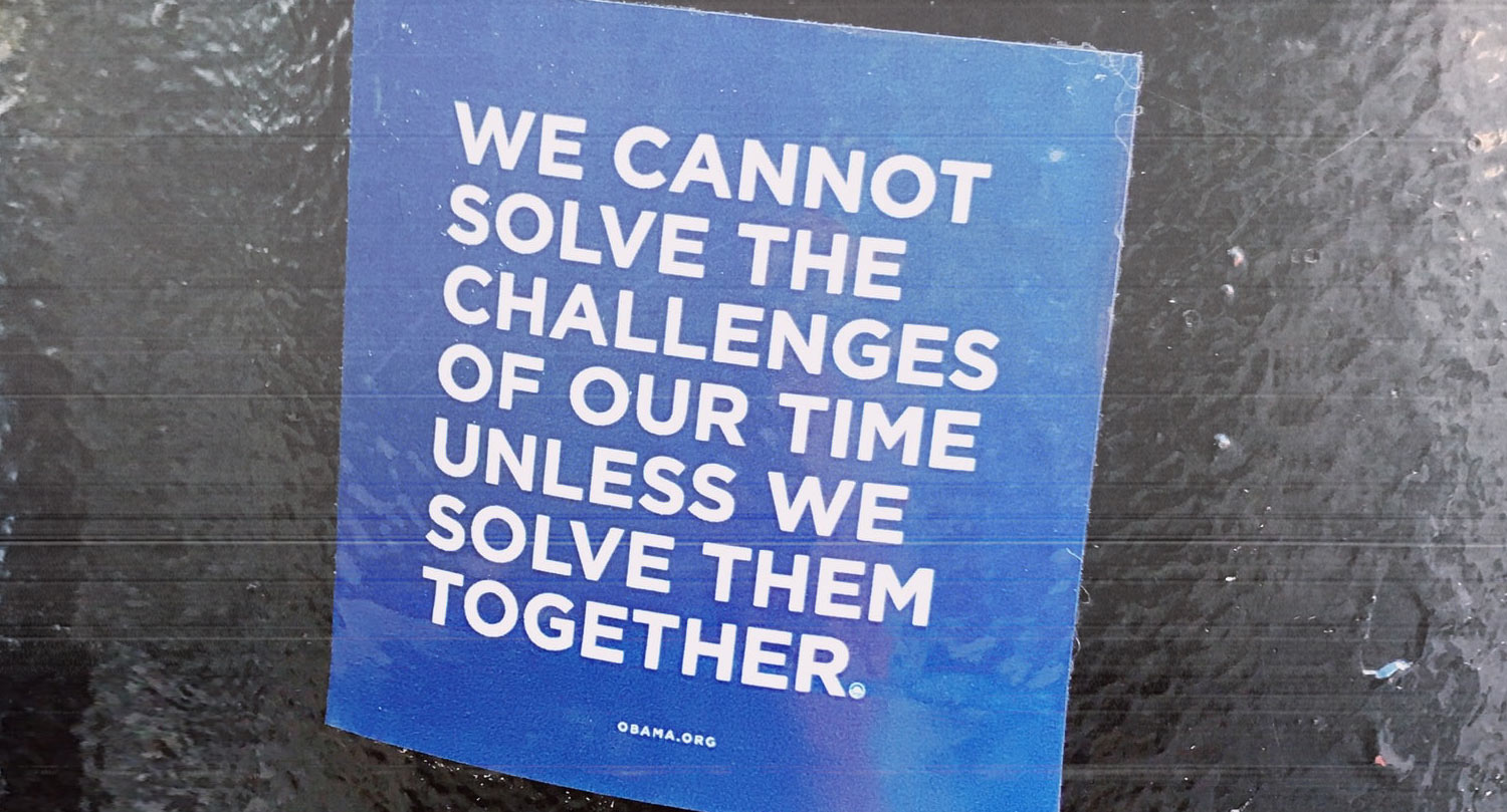 Together we can solve the challenges of our time - socially conscious investing