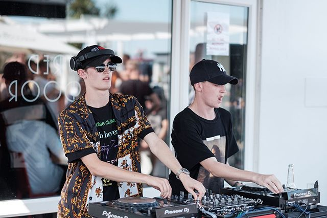 The two fine gents that are @foamamusic absolutely killed it on Monday at the Ibiza Pool Party. These guys are not to be missed!