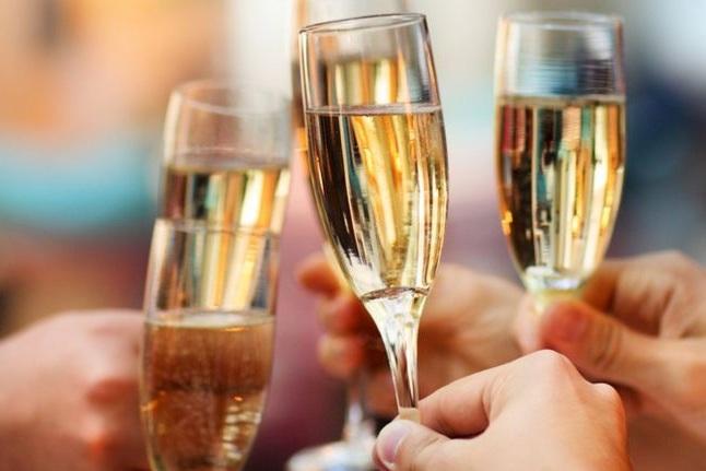 Celebrate wine bubbles champagne