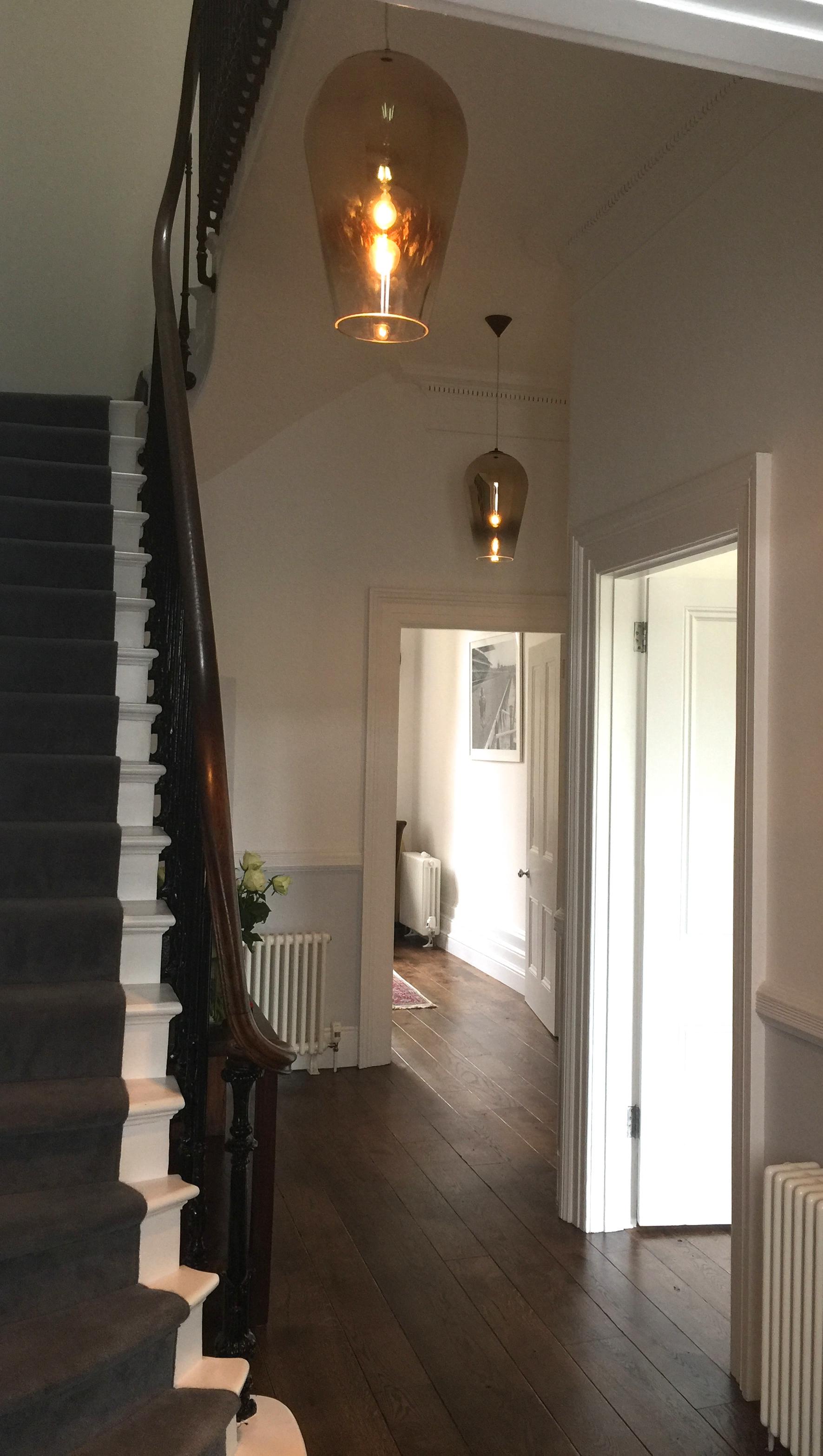 Aberdeen Terrace  interior design project: Tom Dixon pendant lights