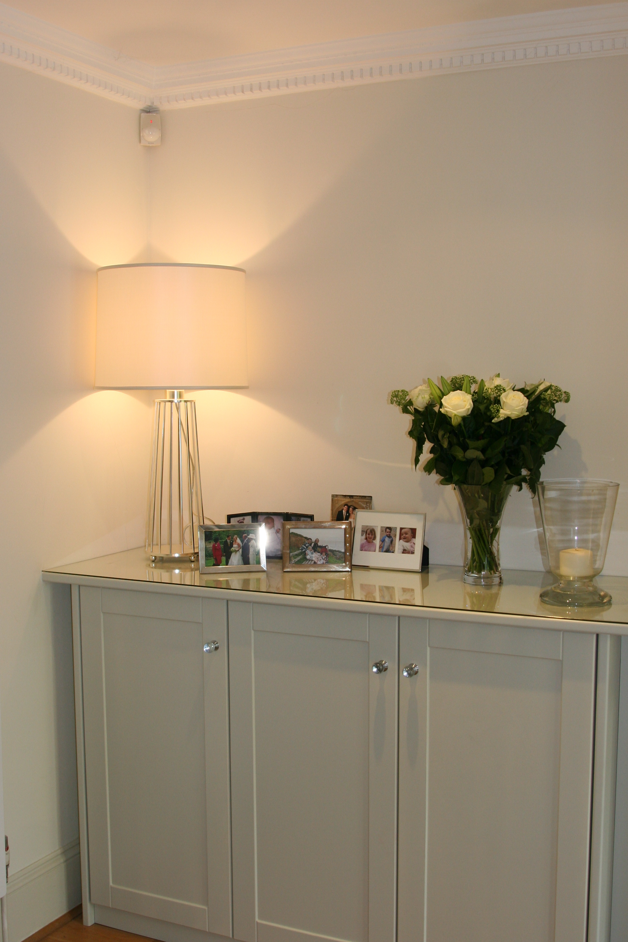 Georgette Place  interior design project, Stunning Barbara Barry lamp, please enquire within.
