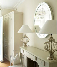 Hyde Vale interior design project: hall lighting design