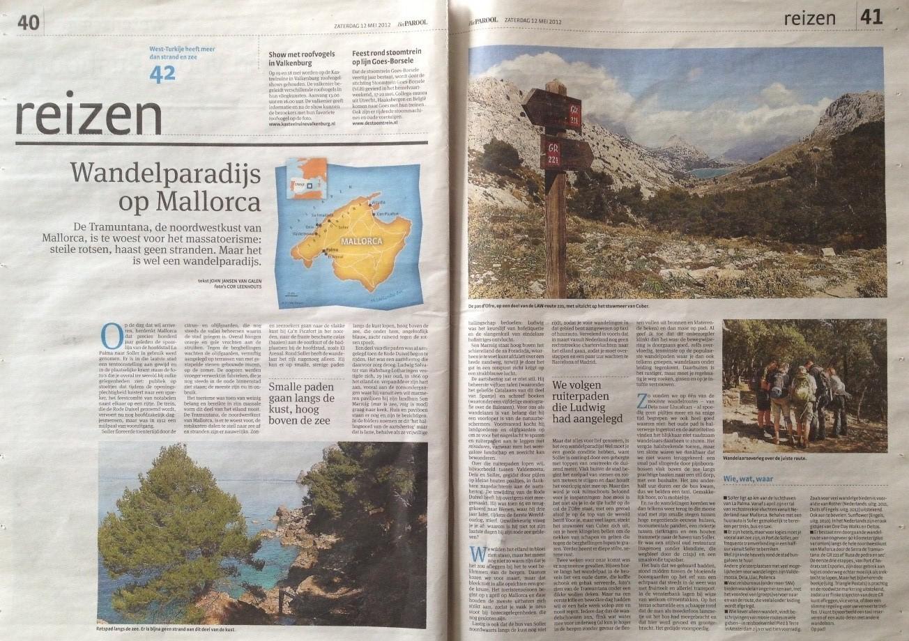 Parool artikle Mallorca.JPG