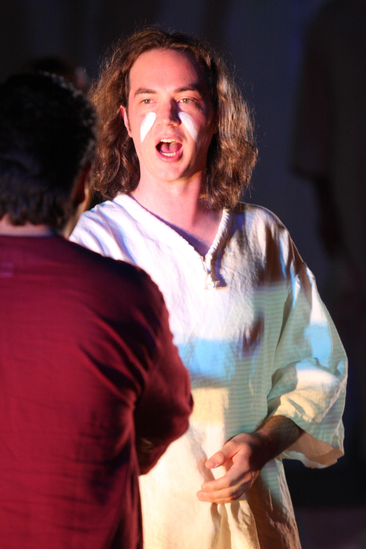 David Salsbery Fry as Sarastro in  Die Zauberflöte  for the International Vocal Arts Institute in Tel Aviv. Photo © Ariel Besor.