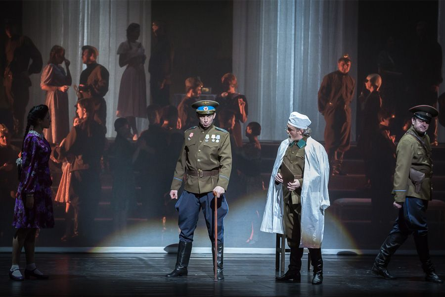 Vladimir Moroz as Alexei in Prokofiev's 'The Story of a Real Man' at the Primorsky Opera, St Petersburg (2015).
