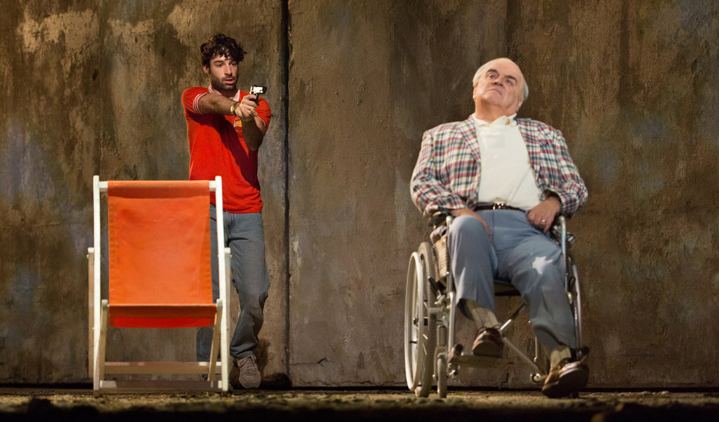 Jesse Kovarsky, left, and Alan Opie in the Metropolitan Opera's 2014 production of 'The Death of Klinghoffer.'. Photograph: Sara Krulwich/The New York Times.