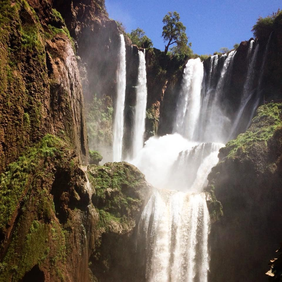 day trip:    MARRAKECH TO oUzoud waterfalls