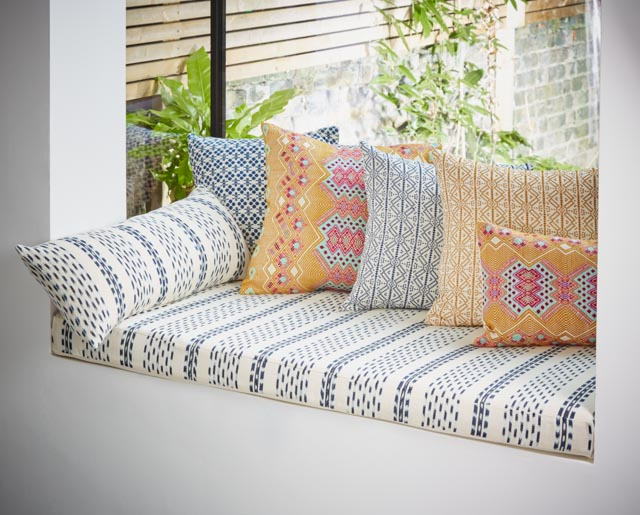 Mamoa Ikat Window Seat & Cushion Selection - A Rum Fellow.jpg