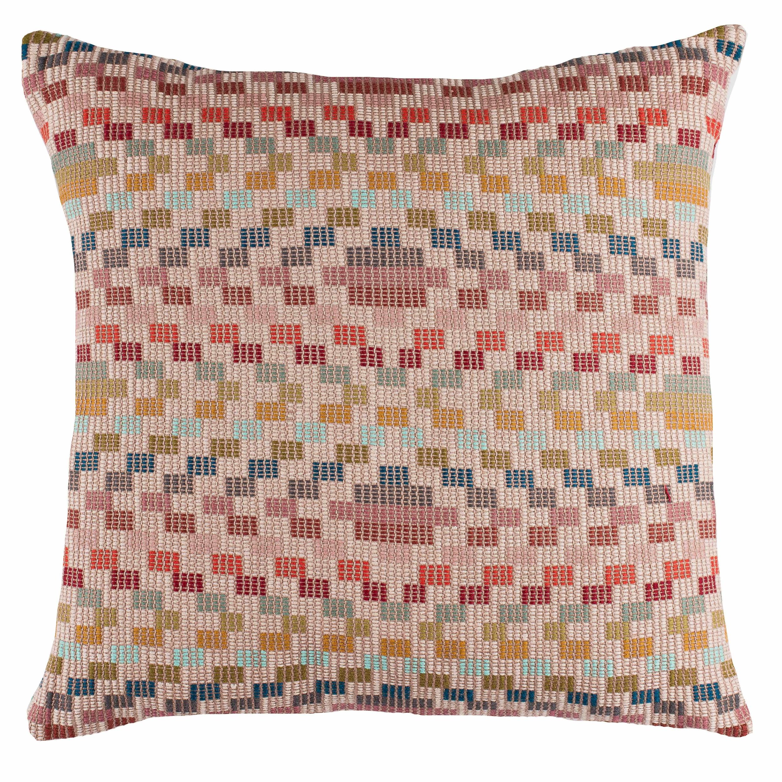 IZAPA BROCADE CUSHION - MULTI - A RUM FELLOW.jpg