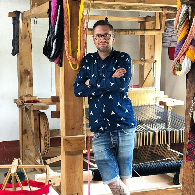 Interested in learning more about our textiles? Come to a talk at George Spencer Design's showroom this Monday 16th @ 12.30pm during Focus.  Dylan O'Shea, co-founder of A Rum Fellow, will focus on the craft of hand weaving, explaining the cultural history and processes behind their textiles, how and why they work ethically and how traditional craft can work in contemporary interiors.  See you there!  @designcentrech @gsdltd  #focus19