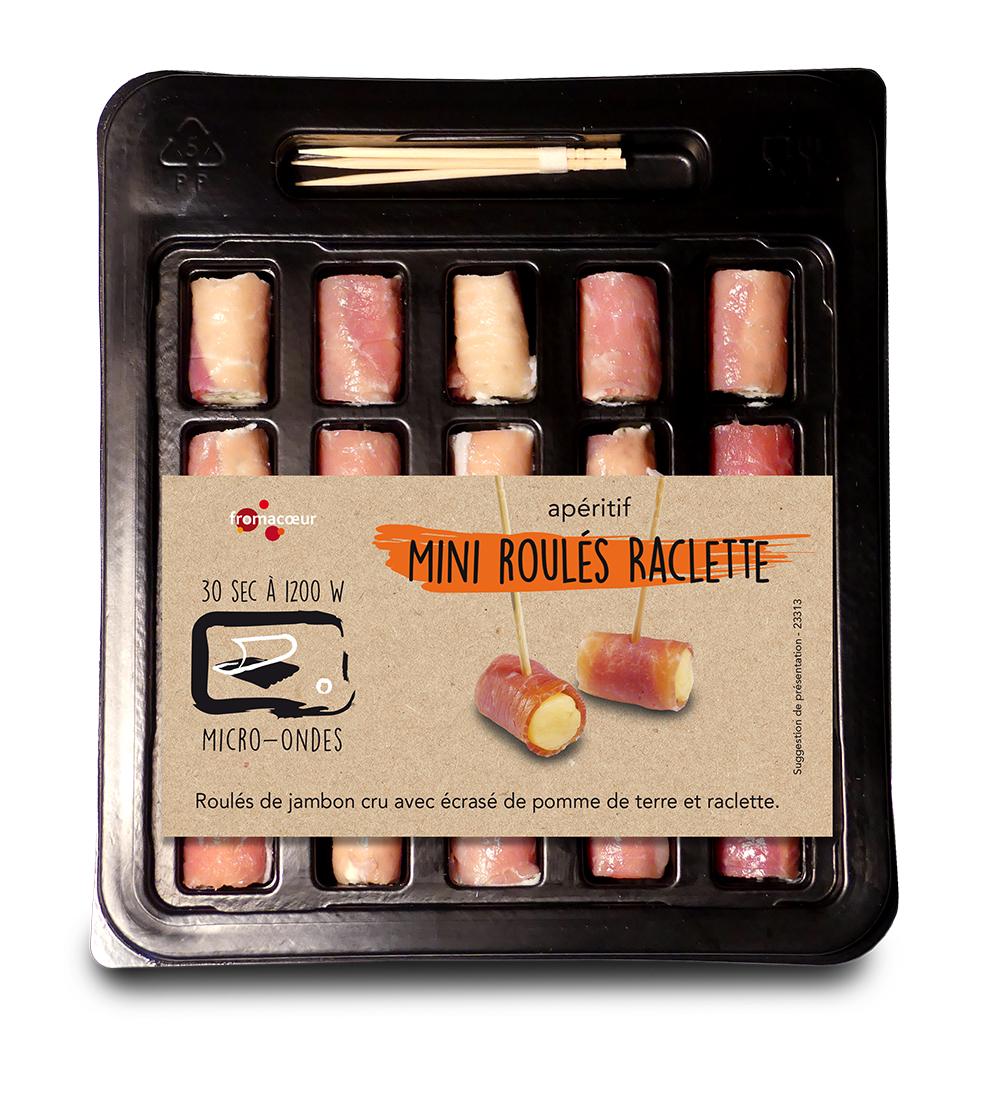 Copy of Mini roulés raclette