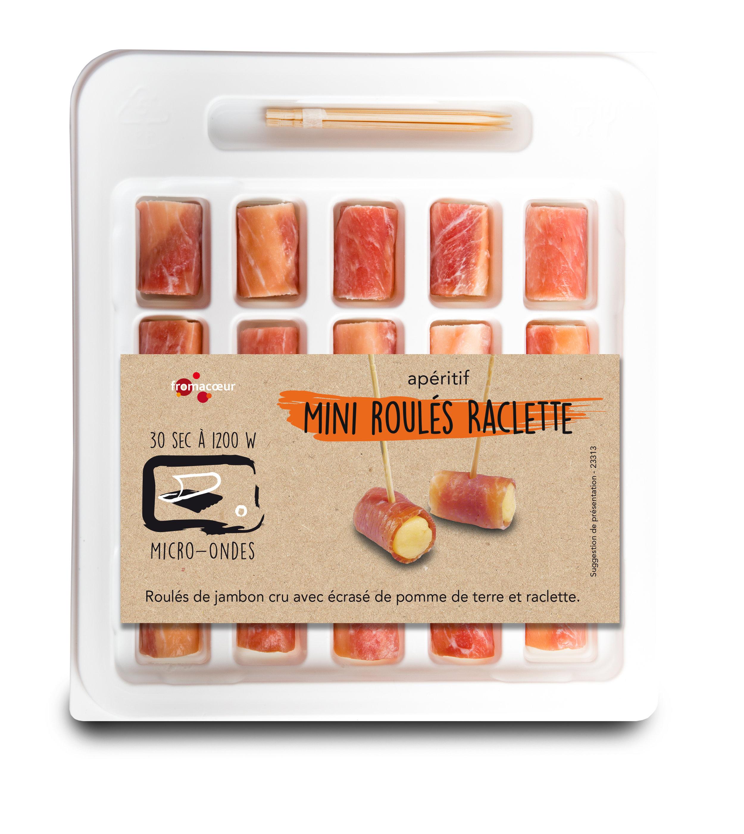 Mini raclette roulades