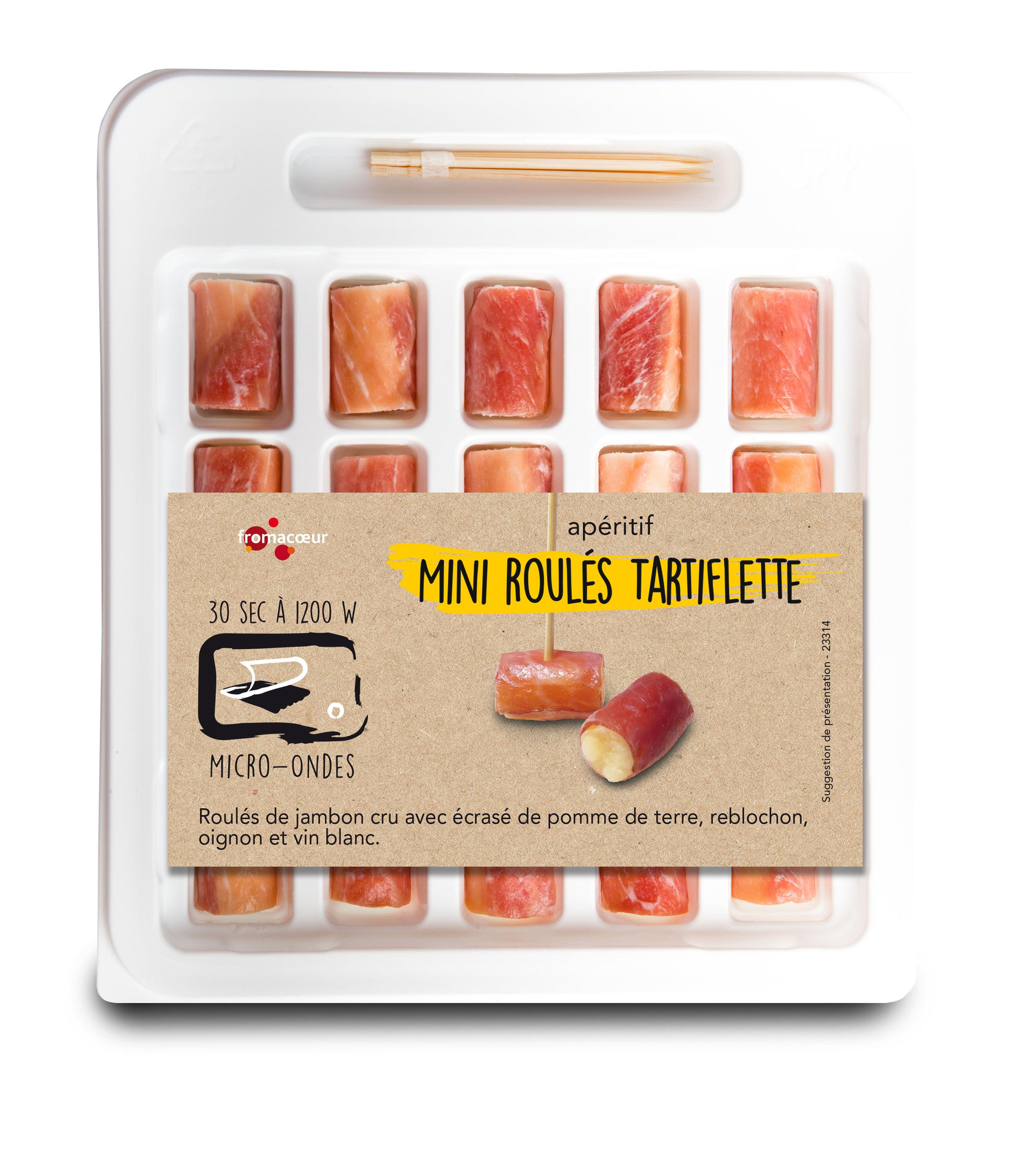 Mini tartiflette roulades