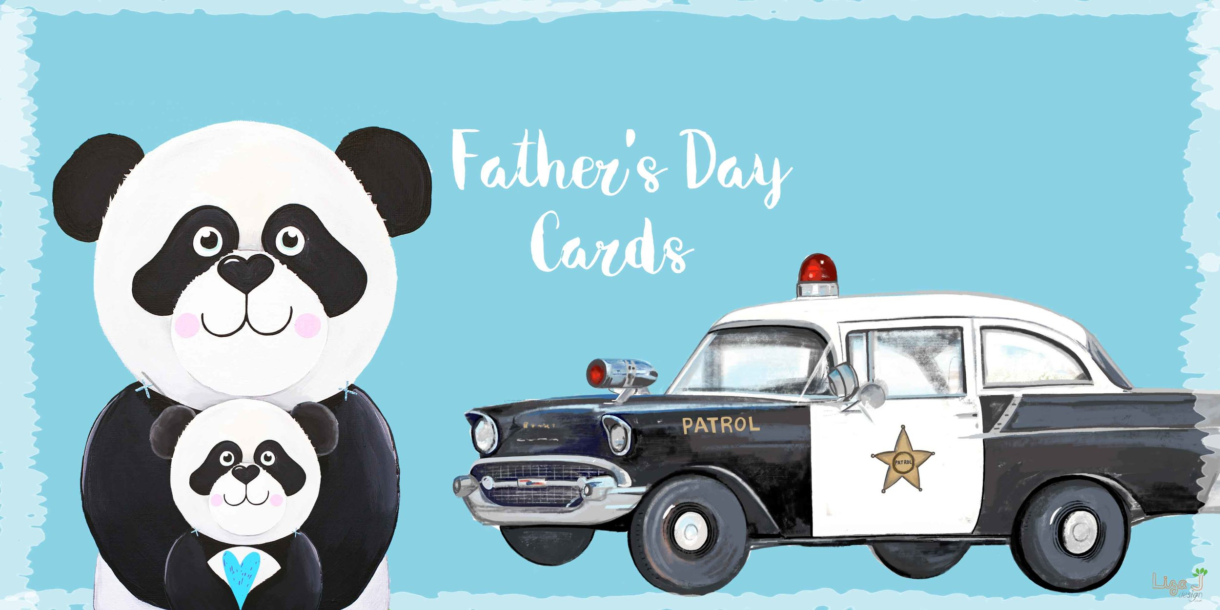 Father's Day Shop Open - From panda's to vintage vehicles explore our characters in the Father's Day range, perfect for a dad's first Father's Day and grandpa's too.