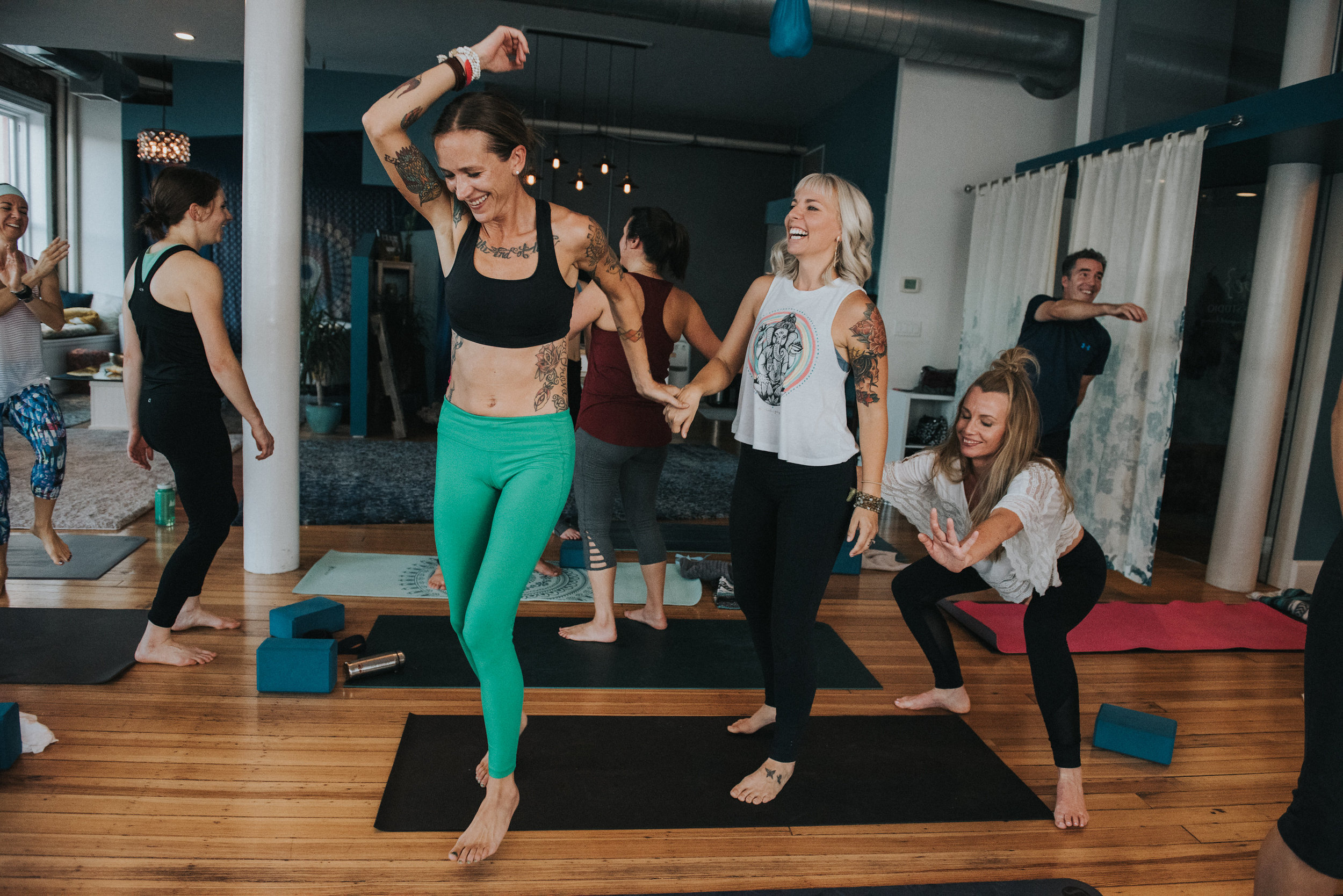 Be Celebrated: Jackie's Birthday Flow! - Saturday at 8:15am with Jackie. Class is free!COMMUNITY!!! My birthday is on Saturday which so happens to be the day the I have the humble opportunity to teach to you all! I'd love to offer you this class for FREE as my gift to you. It is reaffirming to my life to guide you in this practice and I feel so deeply nourished by each of you, especially this past year in welcoming my new daughter. Life....to be celebrated...to YOU.Join me this Saturday December 1st as we sweat, flow and CELEBRATE!!!