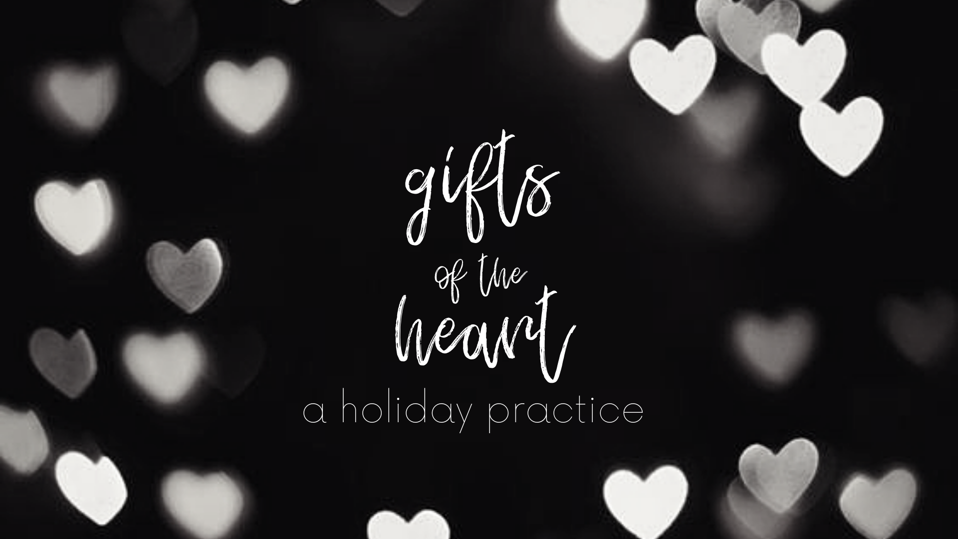 Gifts of the Heart: a Holiday Practice - Monday, December 24th from 9:00 - 10:15For the first time ever, Join Jackie and her sister Samantha as they collaborate for this fun and sweaty flow designed to open your heart this holiday season. We find both strength and ease in this embodied journey through the story of the three wise men and the gifts they bring to our lives here and now. Expect a lot of love, sweat and smiles. Donation Based! Proceeds go to Extraordinary Everett for his first plane ride to South Carolina for the 2019 BPAN conference! Read more about Everett here!