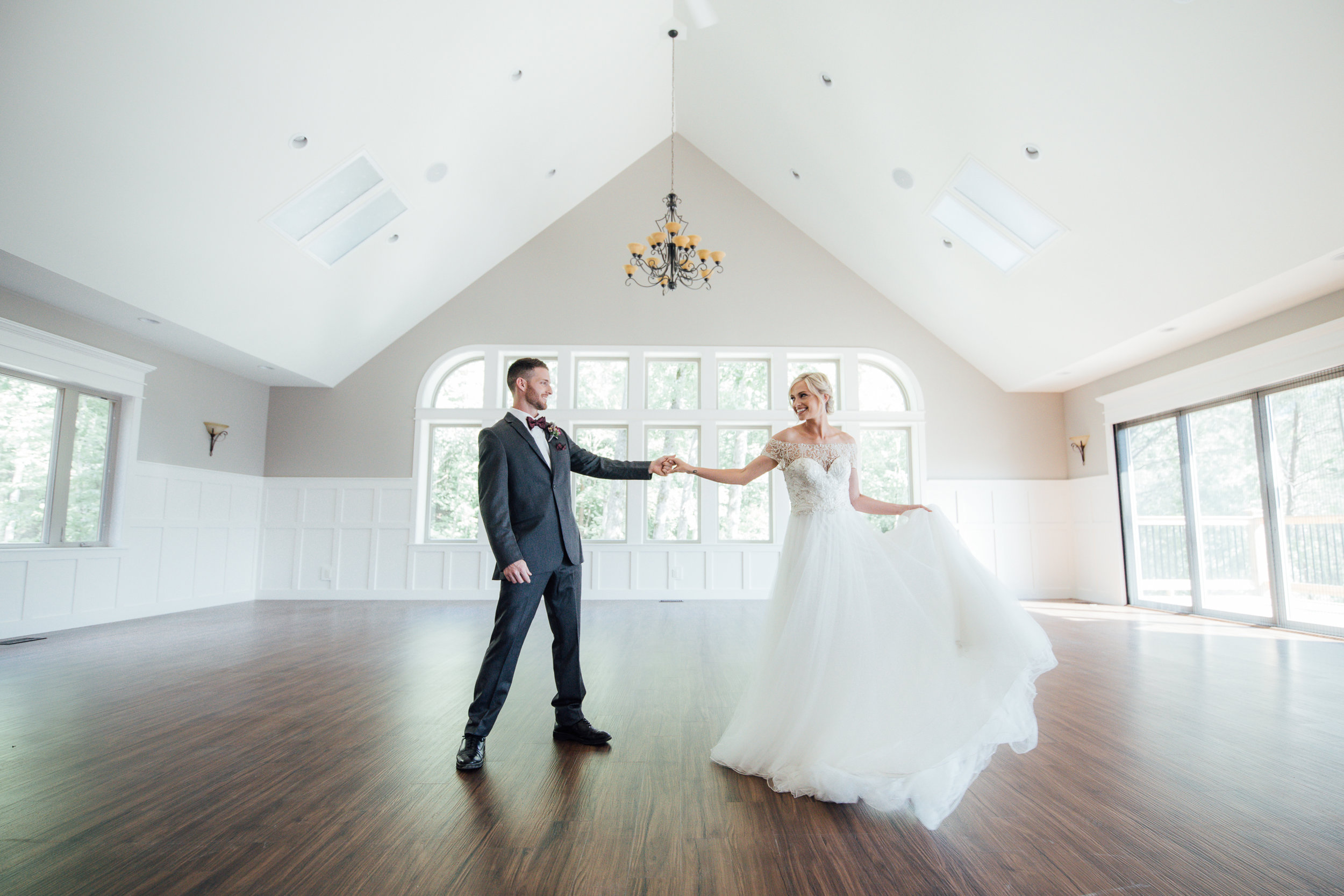 Interior of Windsor Hall | Photo:  Lux Amore Photography