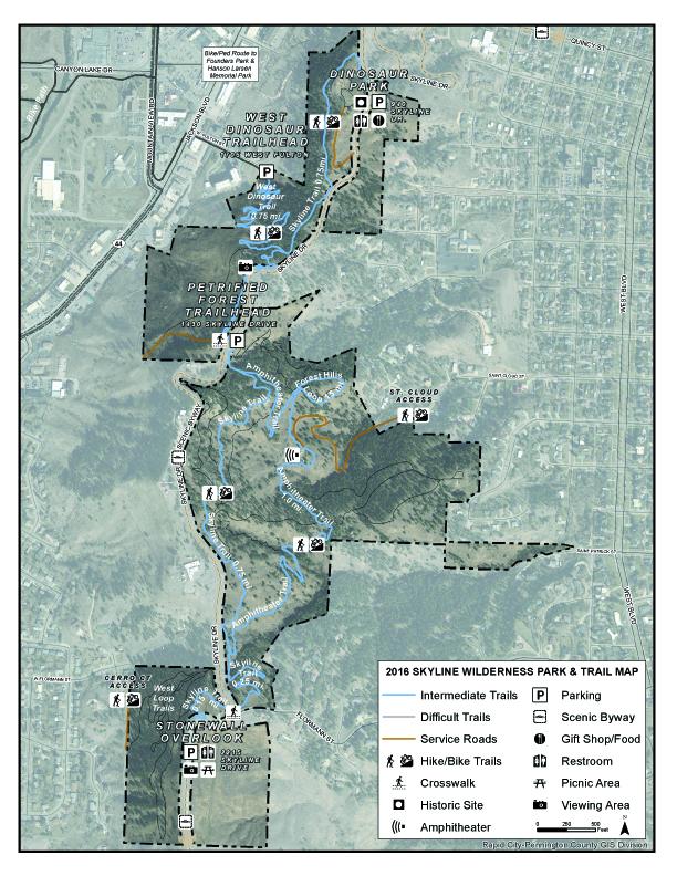Skyline Drive Wilderness Area Black Hills Hiking Biking And More